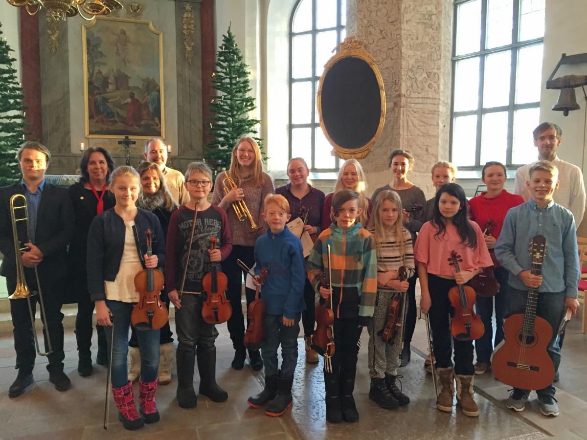 Lunchkonsert i Orsa kyrka 20161215