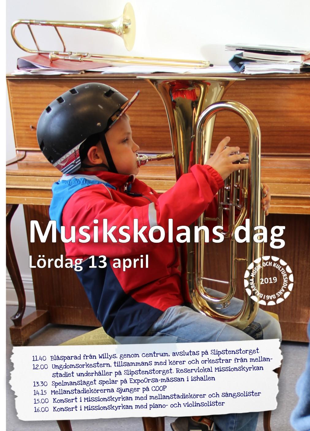 Musik i vårsol!