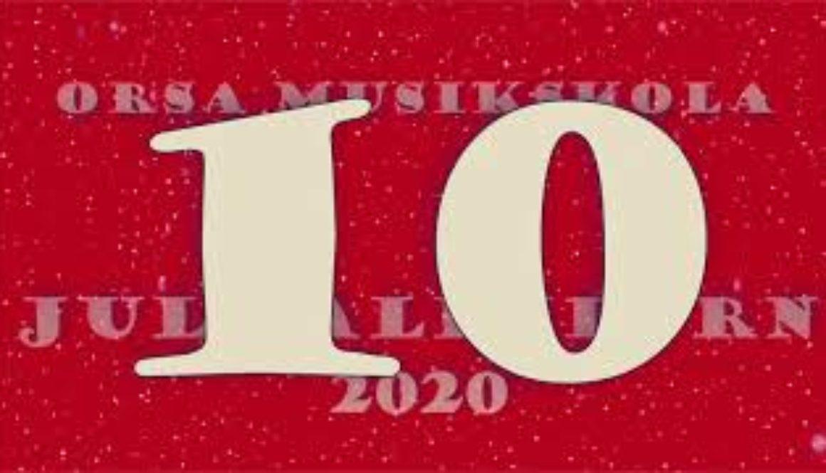 Julkalendern – lucka nr 10