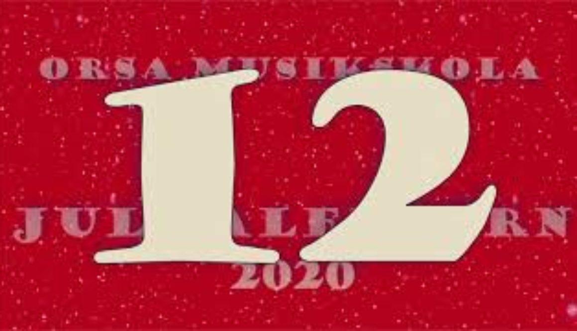 Julkalendern – lucka nr 12
