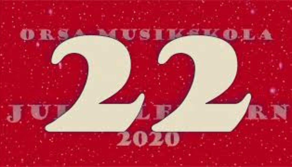 Julkalendern – lucka nr 22