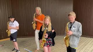 Avslutning för Ungdomsorkestern och Måndagsorkestern